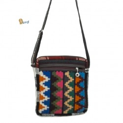 کیف چهار گوش زنانه گلیمی