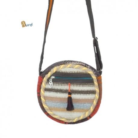 کیف گرد جاجیمی - فروشگاه کورد بازار