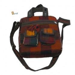 کیف چهار گوش موجی